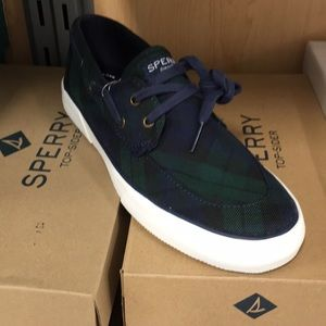 💚💙Sperry Canvas Fall Slip on Loafers 💚💙